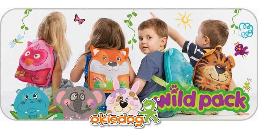 کیف و کوله پشتی و چمدان کودک اوکی داگ