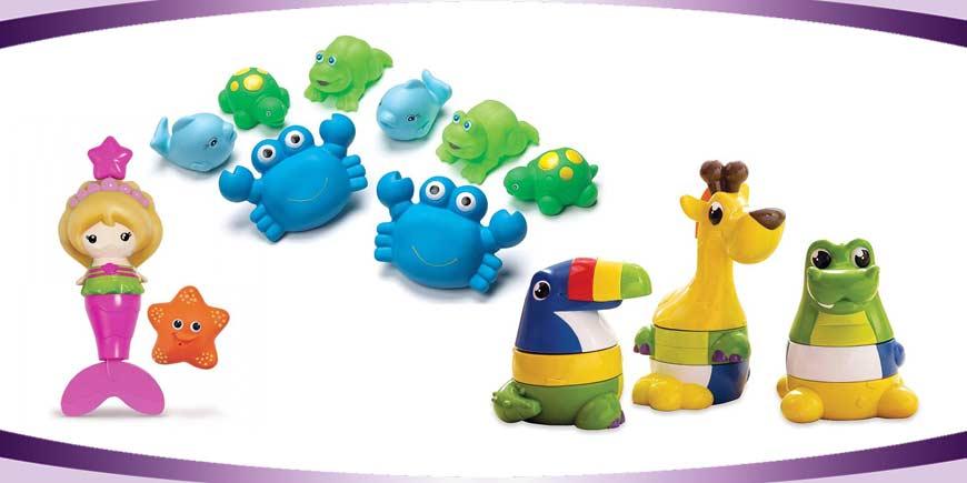 اسباب بازی حمام کودک
