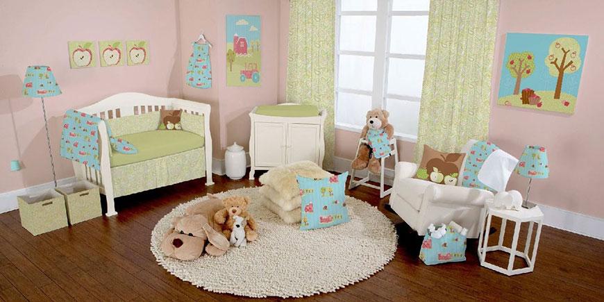 تزئینات اتاق نوزاد و کودک