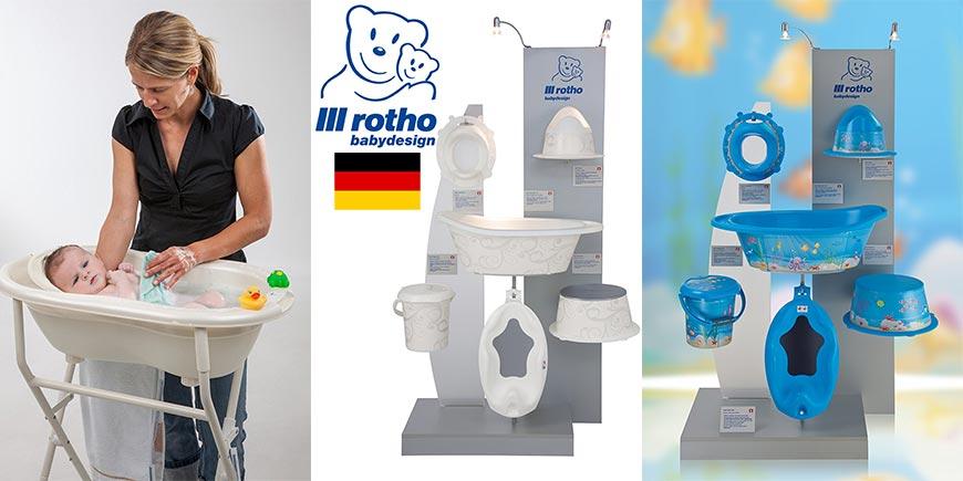لوازم حمام کودک روتو Rotho آلمان