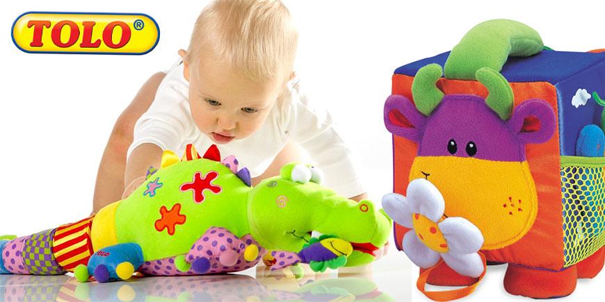 اسباب بازی پولیشی نوزاد تولو tolo
