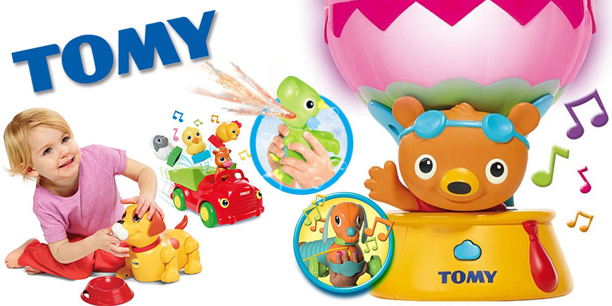 اسباب بازی های آموزشی و موزیکال تامی Tomy