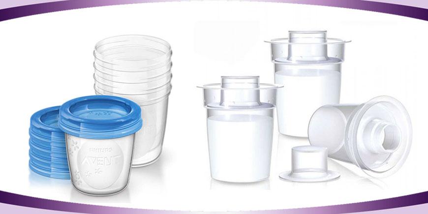 ظرف ذخیره شیر مادر
