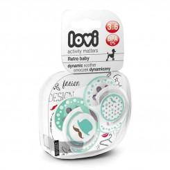خريد اينترنتي سيسموني نوزاد پستانک لاوی از بدو تولد تا 18 ماه مدل Lovi Retro نوزادی، نی نی لازم فروشگاه اینترنتی سیسمونی