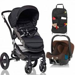 کالسکه و کریر نوزادی بریتکس مدل affinity britax