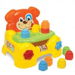 خريد اينترنتي سيسموني نوزاد صندلی کودک کلمنتونی مدل اسباب بازی سگ پازلی Clementoni نوزادی، نی نی لازم فروشگاه اینترنتی سیسمونی