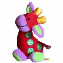 خرید عروسک سوتی زرافه تولو Tolo نوزادی، نی نی لازم فروشگاه اینترنتی سیسمونی