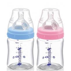 خريد اينترنتي سيسموني نوزاد شیشه شیر پیرکس 120 میل پهن بی بی سیل Babisil نوزادی، نی نی لازم فروشگاه اینترنتی سیسمونی