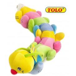 خرید پولیشی هزار پا چسبی تولو Tolo نوزادی، نی نی لازم فروشگاه اینترنتی سیسمونی