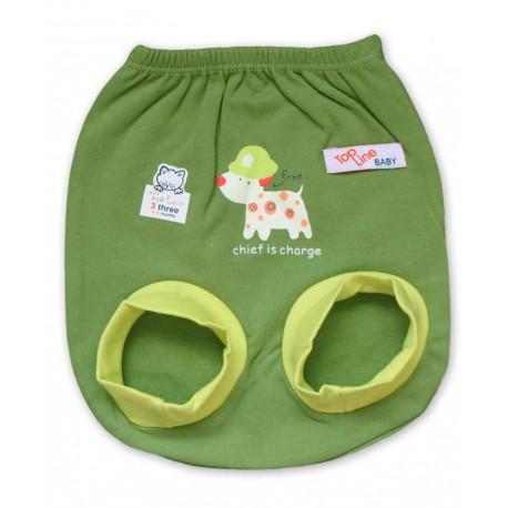 شورت پوشکی رنگی پسرانه سبز تاپ لاین Top Line