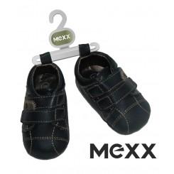 خريد اينترنتي سيسموني نوزاد کفش سرمه ای دو چسب مکس Mexx نوزادی، نی نی لازم فروشگاه اینترنتی سیسمونی