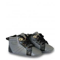 خريد اينترنتي سيسموني نوزاد کفش طوسی پسرانه مکس Mexx نوزادی، نی نی لازم فروشگاه اینترنتی سیسمونی