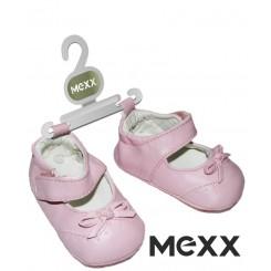 خريد اينترنتي سيسموني نوزاد پاپوش صورتی دخترانه مکس Mexx نوزادی، نی نی لازم فروشگاه اینترنتی سیسمونی