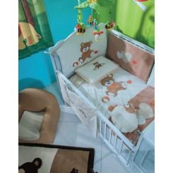 خريد اينترنتي سيسموني نوزاد سرویس 7 تکه روتختی(مدل بری)پارکادو Parkado نوزادی، نی نی لازم فروشگاه اینترنتی سیسمونی