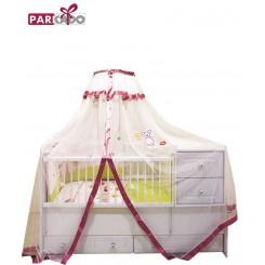 خريد اينترنتي سيسموني نوزاد پشه بند (مدل موشا)پارکادو Parkado نوزادی، نی نی لازم فروشگاه اینترنتی سیسمونی