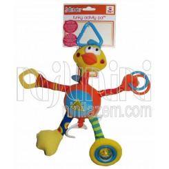 خريد اينترنتي سيسموني نوزاد نخکش موزیکال اردک بلند جولی بی بی Jollybaby نوزادی، نی نی لازم فروشگاه اینترنتی سیسمونی
