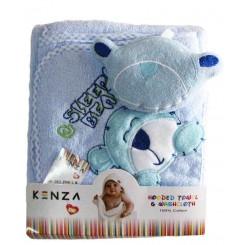 خريد اينترنتي سيسموني نوزاد حوله سه تکه خرس اسلیپی کنزا Kenza نوزادی، نی نی لازم فروشگاه اینترنتی سیسمونی