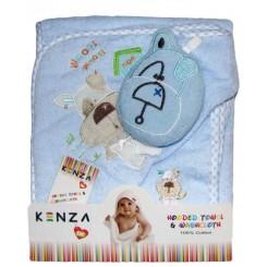 خريد اينترنتي سيسموني نوزاد حوله سه تکه سگ و خونه کنزا Kenza نوزادی، نی نی لازم فروشگاه اینترنتی سیسمونی