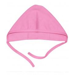 خريد اينترنتي سيسموني نوزاد کلاه بندی دخترانه صورتی راه راه تاپ لاین Top Line نوزادی، نی نی لازم فروشگاه اینترنتی سیسمونی