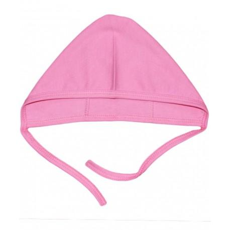 کلاه بندی دخترانه صورتی راه راه تاپ لاین Top Line