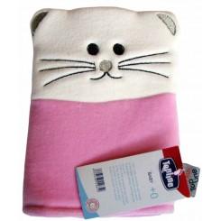 خريد اينترنتي سيسموني نوزاد لیف برس دار گربه صورتی تاپ لاین Top Line نوزادی، نی نی لازم فروشگاه اینترنتی سیسمونی