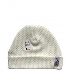 کلاه استرچ دخترانه خالدار تاپ لاین Top Line