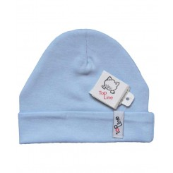 خريد اينترنتي سيسموني نوزاد کلاه استرچ (آبی) تاپ لاین Top Line نوزادی، نی نی لازم فروشگاه اینترنتی سیسمونی