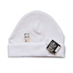 خرید کلاه استرچ (سفید) تاپ لاین Top Line نوزادی، نی نی لازم فروشگاه اینترنتی سیسمونی