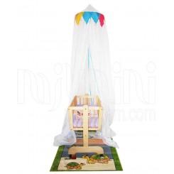 خريد اينترنتي سيسموني نوزاد تورسقفی تخت مدل فیلو پارکادو Parkado نوزادی، نی نی لازم فروشگاه اینترنتی سیسمونی