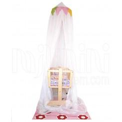 خريد اينترنتي سيسموني نوزاد تورسقفی تخت مدل کیتی پارکادو Parkado نوزادی، نی نی لازم فروشگاه اینترنتی سیسمونی