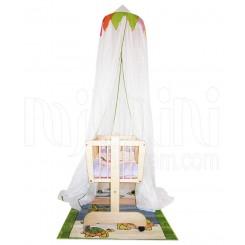 خريد اينترنتي سيسموني نوزاد تورسقفی تخت مدل لاکی پارکادو Parkado نوزادی، نی نی لازم فروشگاه اینترنتی سیسمونی