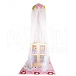 خريد اينترنتي سيسموني نوزاد تورسقفی تخت مدل موشا پارکادو Parkado نوزادی، نی نی لازم فروشگاه اینترنتی سیسمونی
