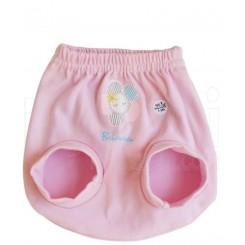 خريد اينترنتي سيسموني نوزاد به آوران مدل گل شورت پوشکی دخترانه Behavaran نوزادی، نی نی لازم فروشگاه اینترنتی سیسمونی