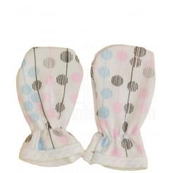 خريد اينترنتي سيسموني نوزاد به آوران مدل گل دستکش دخترانه Behavaran نوزادی، نی نی لازم فروشگاه اینترنتی سیسمونی