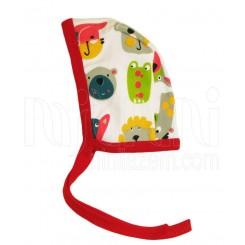 خريد اينترنتي سيسموني نوزاد به آوران مدل شیر کلاه بندی پسرانه Behavaran  نوزادی، نی نی لازم فروشگاه اینترنتی سیسمونی