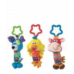 خريد اينترنتي سيسموني نوزاد پلی گرو - آویز 3 عددی کالسکه جدید Playgro نوزادی، نی نی لازم فروشگاه اینترنتی سیسمونی