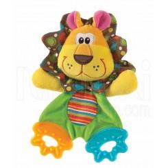 خريد اينترنتي سيسموني نوزاد پلی گرو - عروسک شیر دندانگیردار Playgro نوزادی، نی نی لازم فروشگاه اینترنتی سیسمونی