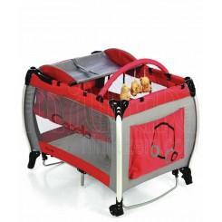 خريد اينترنتي سيسموني نوزاد کاپلا - تخت و پارک گهواره ای قرمز Capella نوزادی، نی نی لازم فروشگاه اینترنتی سیسمونی