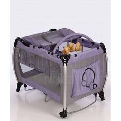 خريد اينترنتي سيسموني نوزاد کاپلا - تخت و پارک گهواره ای یاسی Capella نوزادی، نی نی لازم فروشگاه اینترنتی سیسمونی
