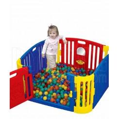 خريد اينترنتي سيسموني نوزاد پارک حفاظ کودک آبی و قرمز ادو پلی Edu Play نوزادی، نی نی لازم فروشگاه اینترنتی سیسمونی
