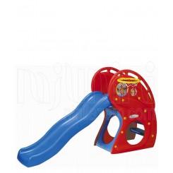خرید سرسره بزرگ قرمز با تور بسکتبال هینیم Haenim نوزادی، نی نی لازم فروشگاه اینترنتی سیسمونی