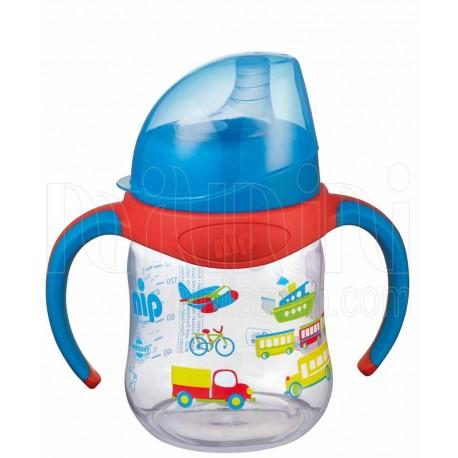 خرید لیوان آموزشی سوپاپدار پسرانه نیپ Nip نوزادی، نی نی لازم فروشگاه اینترنتی سیسمونی