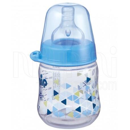 خرید شیشه شیر طلقی کپل پسرانه نیپ Nip نوزادی، نی نی لازم فروشگاه اینترنتی سیسمونی