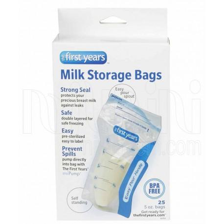 خرید کیسه ذخیره شیر نوزاد فرست یرز First Years نوزادی، نی نی لازم فروشگاه اینترنتی سیسمونی