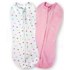 خرید قنداق نوزاد سامر(صورتی - پروانه) Summer نوزادی، نی نی لازم فروشگاه اینترنتی سیسمونی