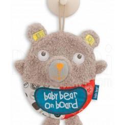 خريد اينترنتي سيسموني نوزاد آویز هشدار کودک در ماشین خرس کوچولو لیتل بیرد Little bird told me نوزادی، نی نی لازم فروشگاه اینترنتی سیسمونی