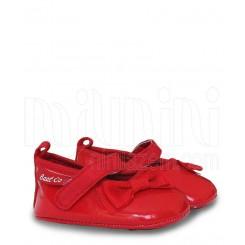 خريد اينترنتي سيسموني نوزاد کفش دخترانه ورنی 3 رنگ بت Baat نوزادی، نی نی لازم فروشگاه اینترنتی سیسمونی