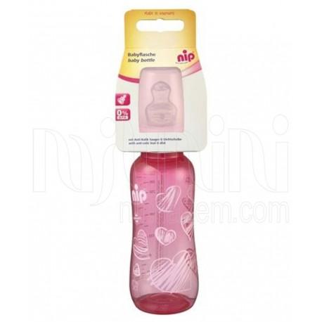 شیشه شیر پروپیلن 250میل  trendy  دخترانه نیپ  Nip