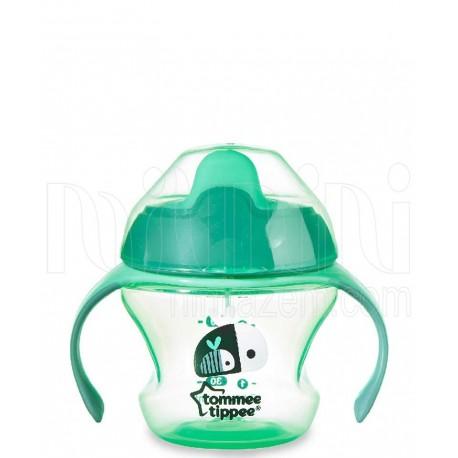 خرید لیوان آموزشی دسته دار 150 میل تامی تیپ Tommee Tippee نوزادی، نی نی لازم فروشگاه اینترنتی سیسمونی