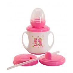 خريد اينترنتي سيسموني نوزاد لیوان آموزشی نوزاد 3کاره اپل Apple baby نوزادی، نی نی لازم فروشگاه اینترنتی سیسمونی